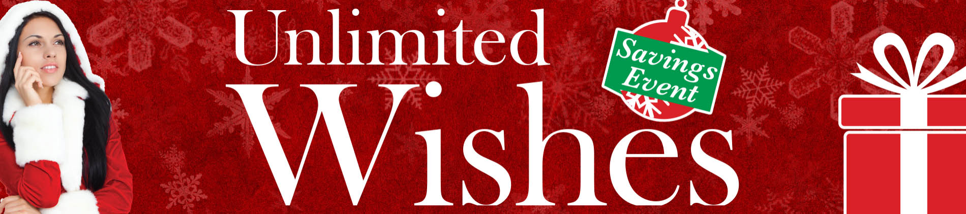 December Savings Event Unlimited Wishes at Audio Video