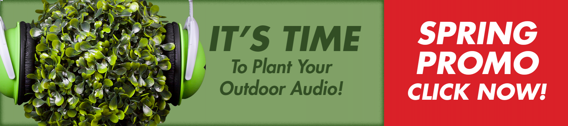 It's time to plant your audio PROMO