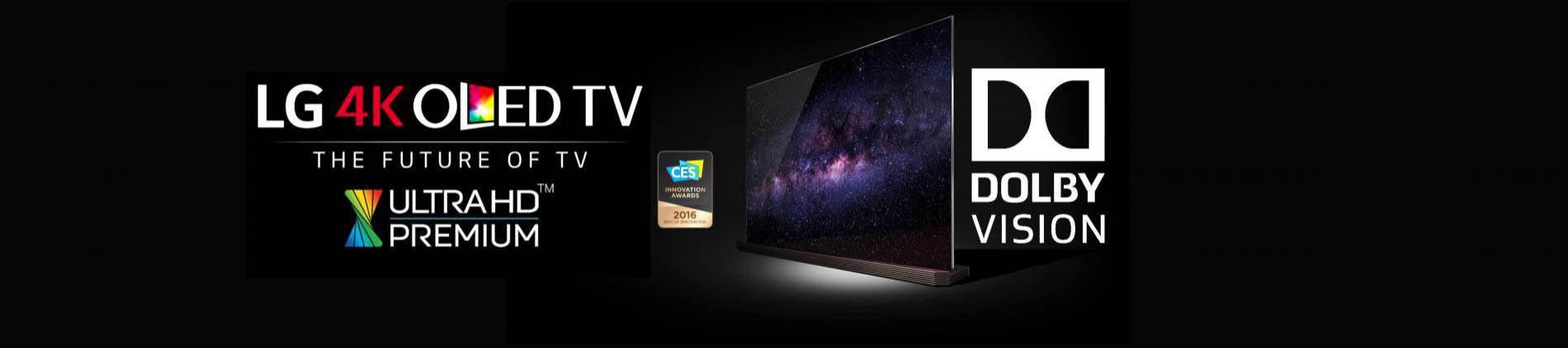 LG 4K OLED TV