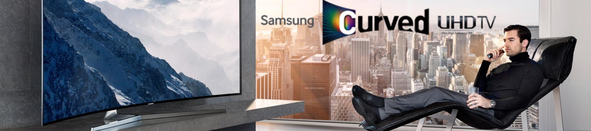 Samsung Curved 4K UHD TV