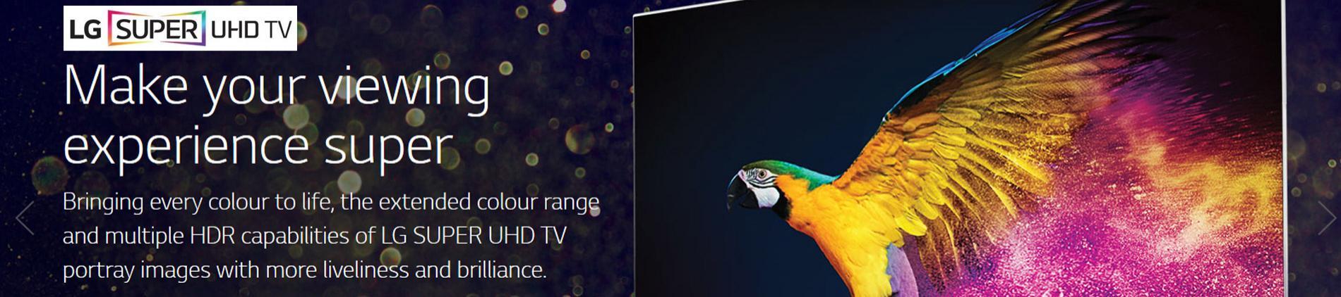 LG Super HD 4K TV