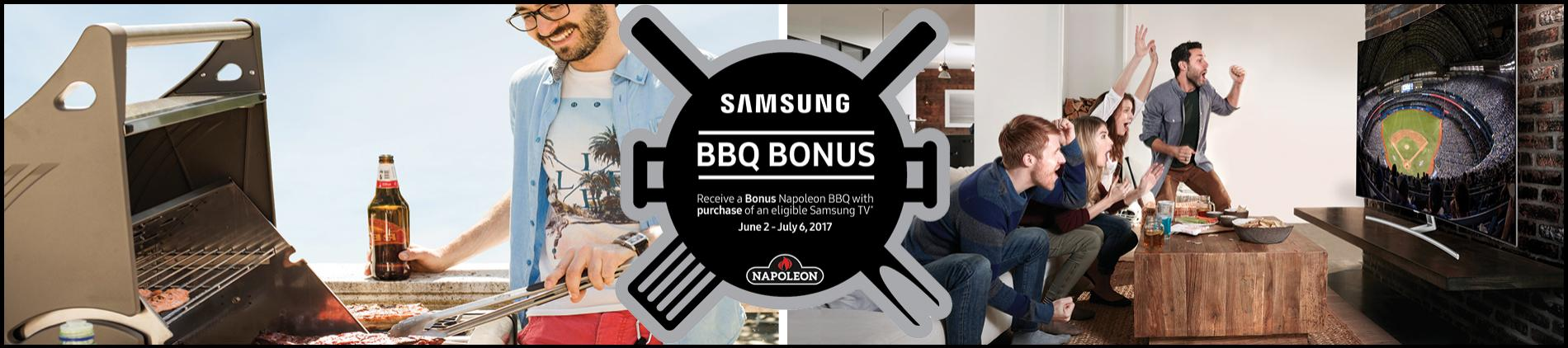 Samsung BBQ Promo
