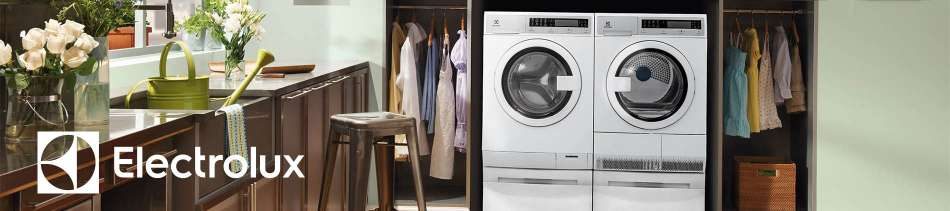 Electrolux, Garden, Laundry, Flowers, Green, Washer, Dryer, Pair