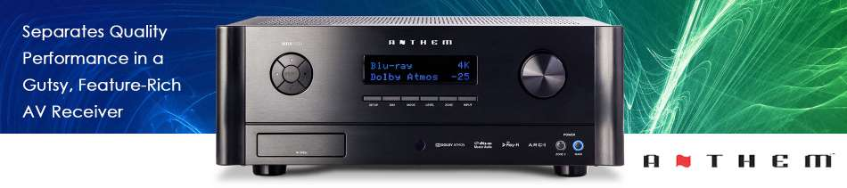 anthem,receiver,home theatre,stereo component