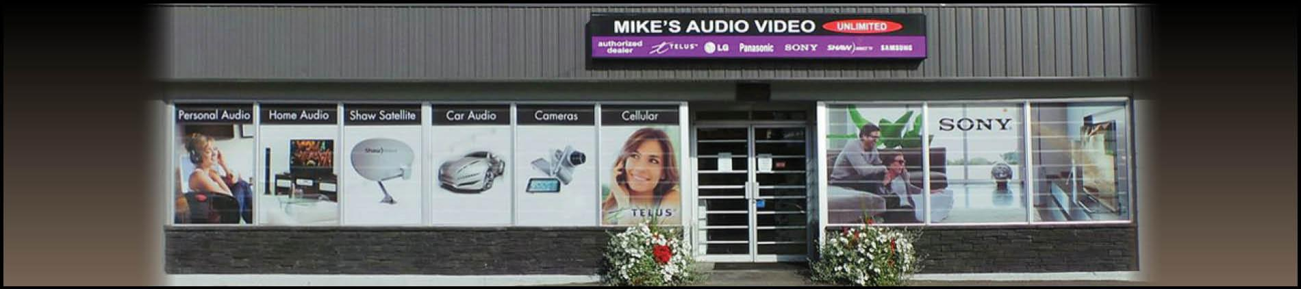 Mikes Audio Video Unlimited store location