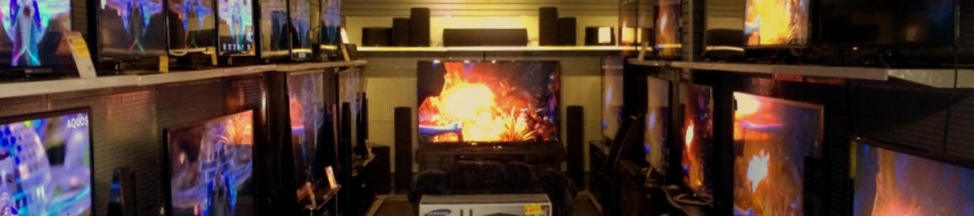 The Latest T.V.s in Stock!