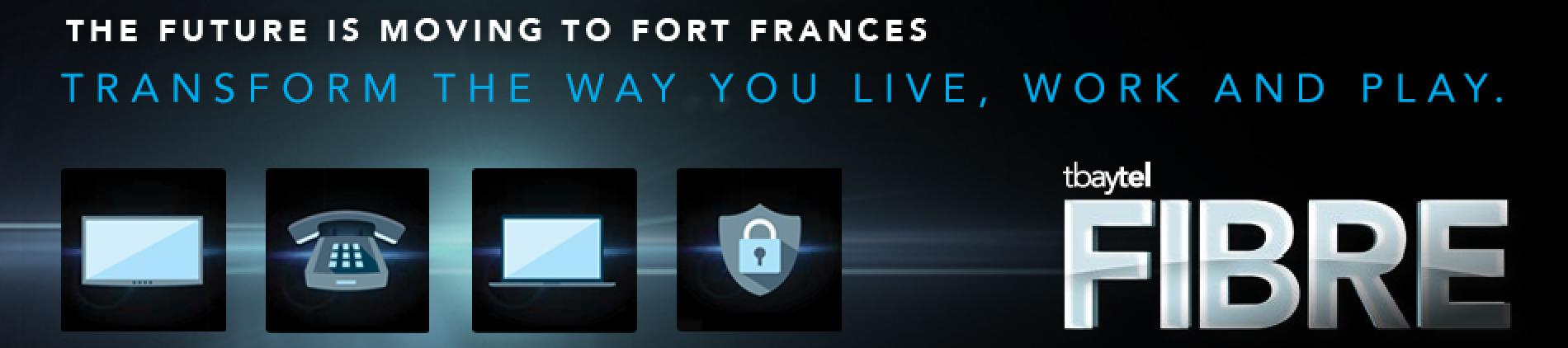 FIBER Fort Frances, Tbaytel, Digital TV, Fiber Internet, Fibe