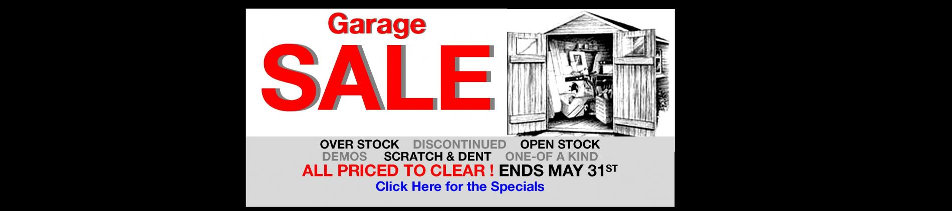 7th Annual Garage store-Wide Sale Atlas AVU. Amazing Deals in every department