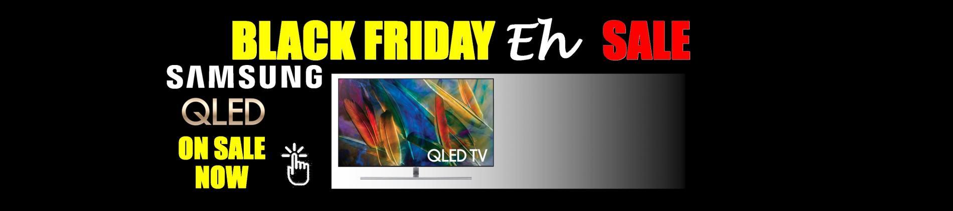 Samsung 4K QLED Quantum Dot TV