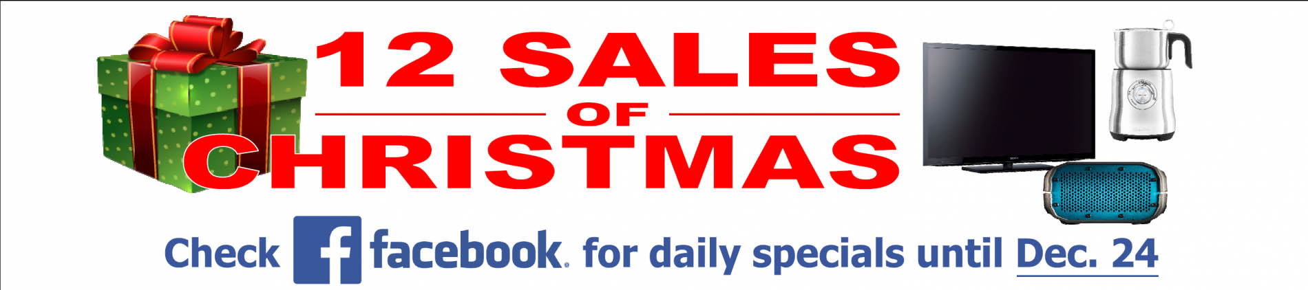 12 sales of Christmas