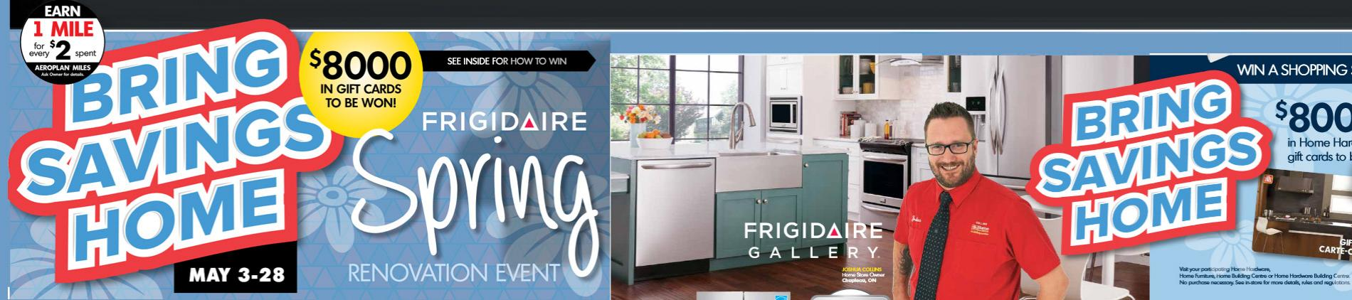 Frigidaire,spring sale,event,deal