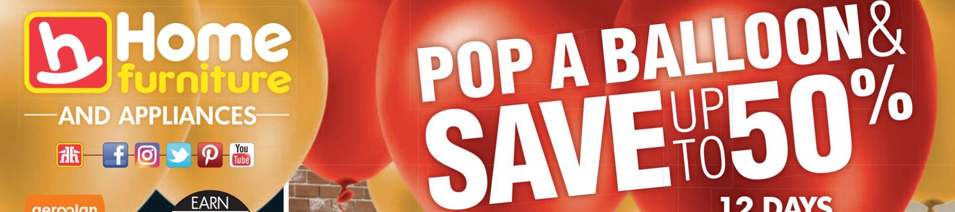 Pop a balloon sale