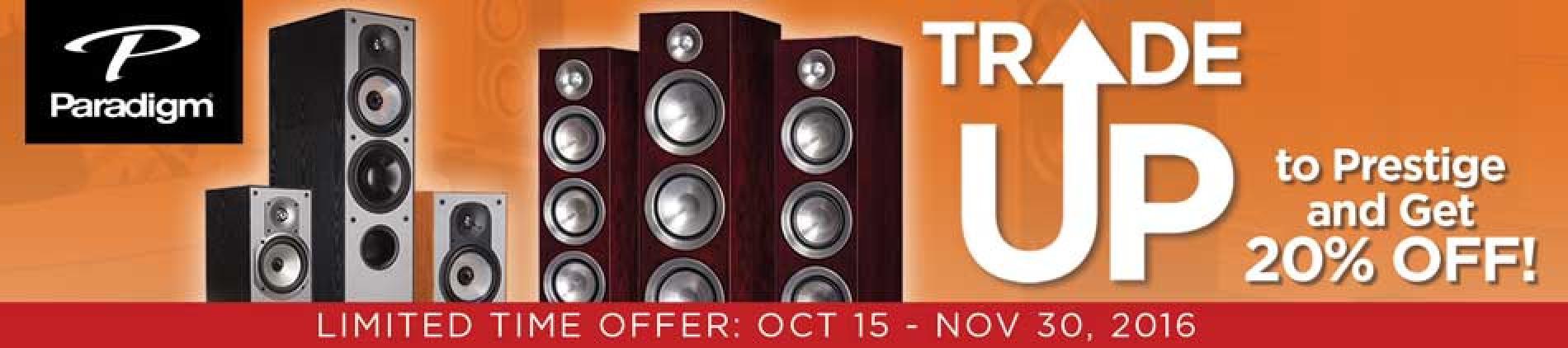 Paradigm,home speakers, home audio