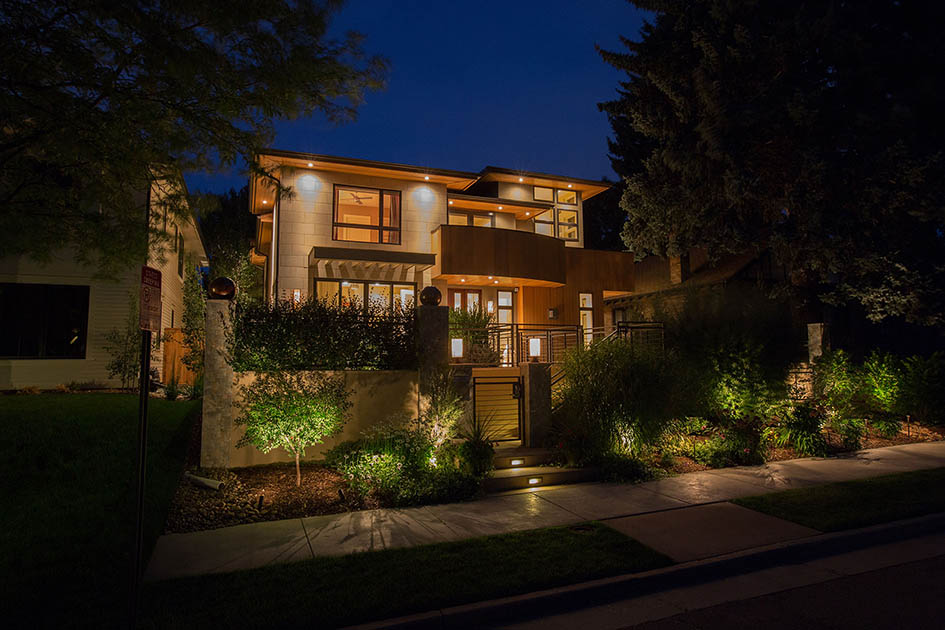 lighting, automation, exterior lights control, custom home