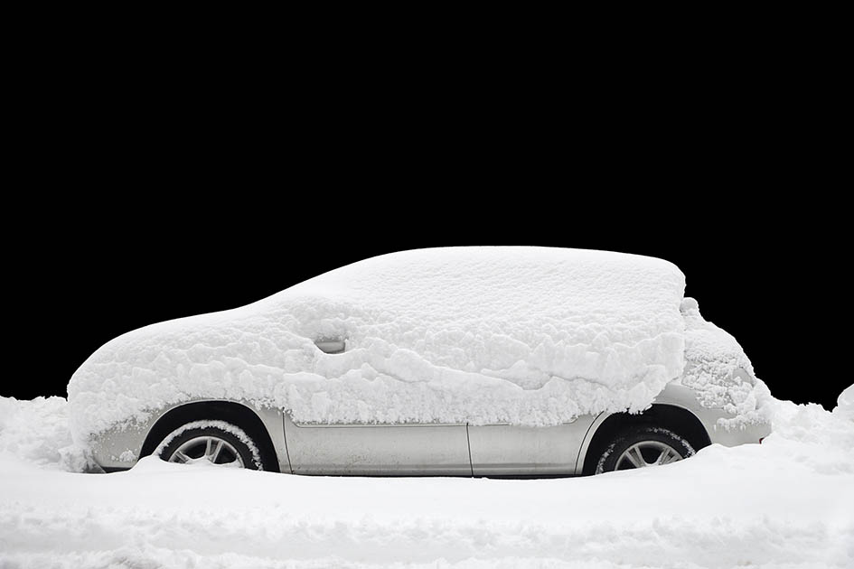 winter, snow, car starter, remote starter