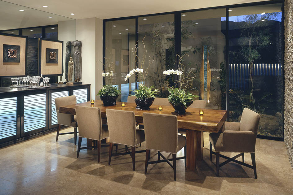 furniture, dining room, dining table