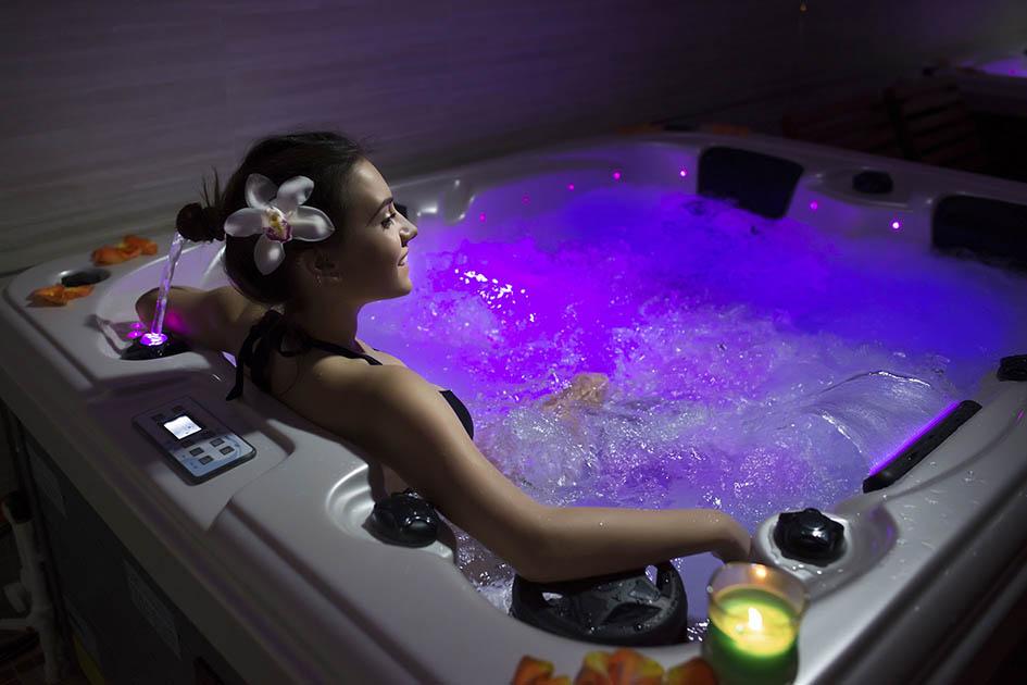 Hot tub, home leisure, spa