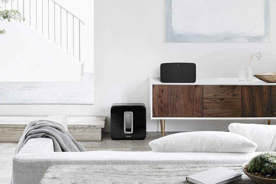 Sonos, wireless speakers, multiroom