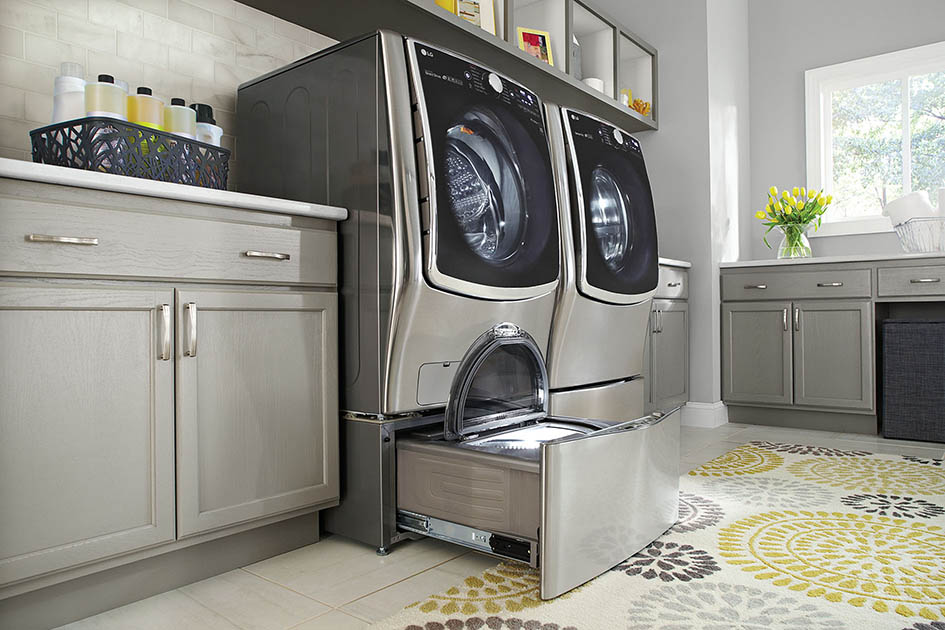 Laundry, washer, dryer, LG