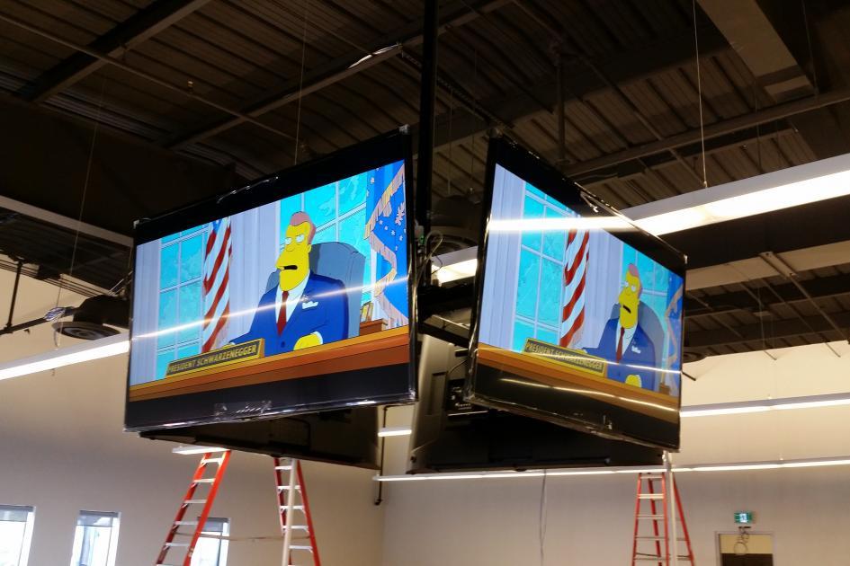 Quad TV Mount