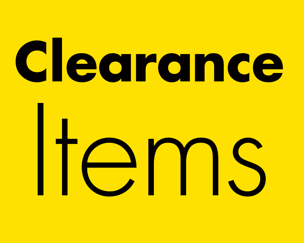 January sale, closeouts, clearance sale,