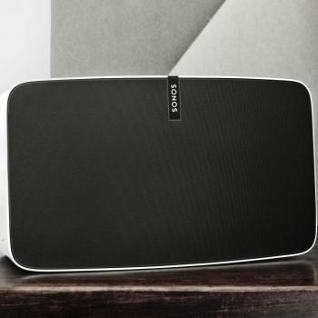 Listen to your music anywhere in the house or outside. Where ever there is a wireless signal. Sonos does it best. Full line up in store.