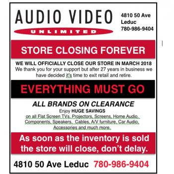 Store Closing Clearance