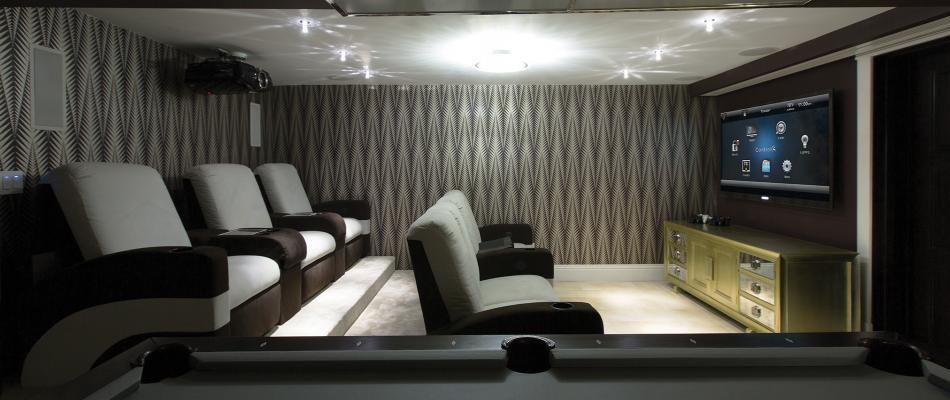 Home Theatre & Media Rooms
