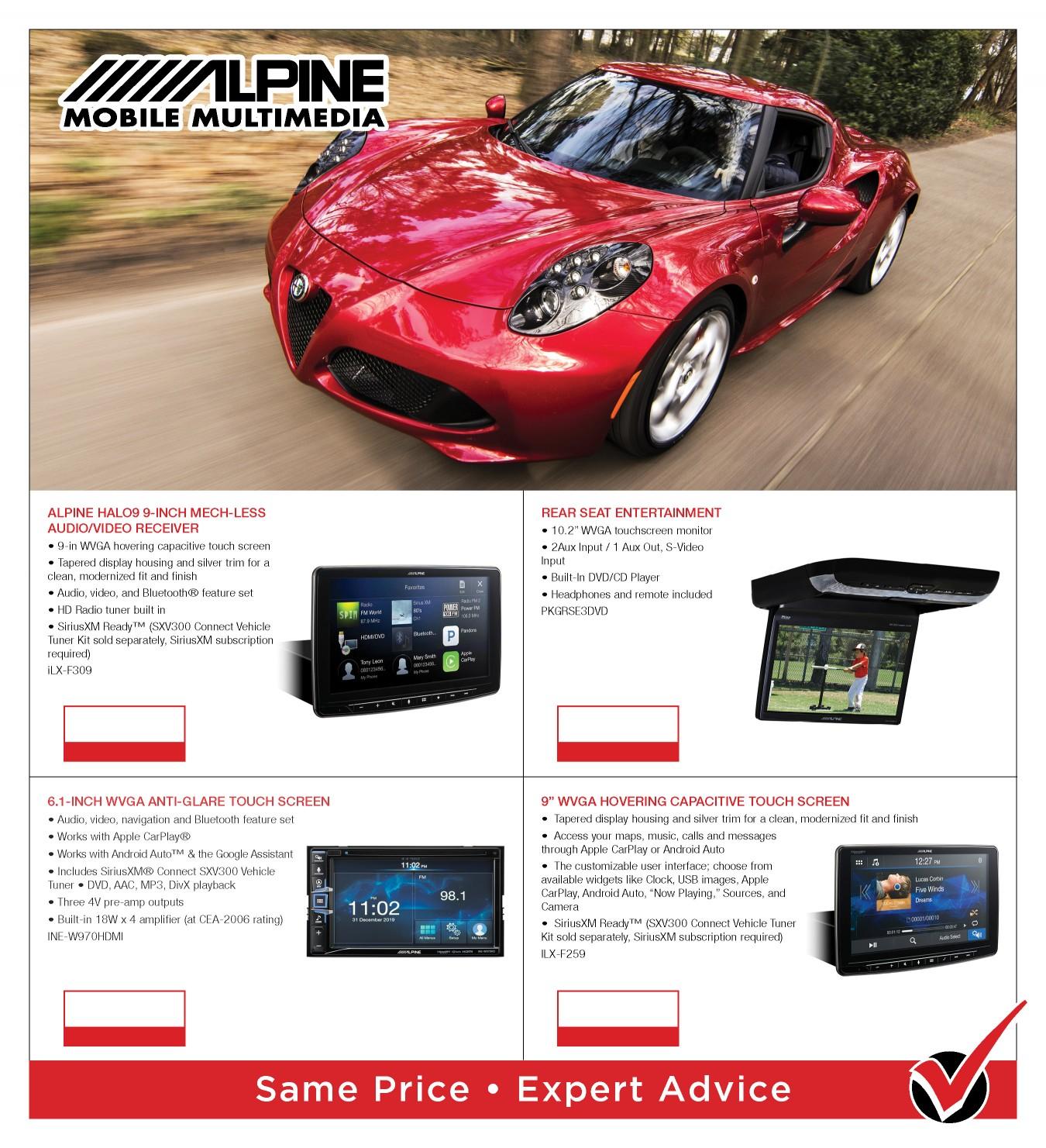 Product Catalog   Denomy's TV AVU