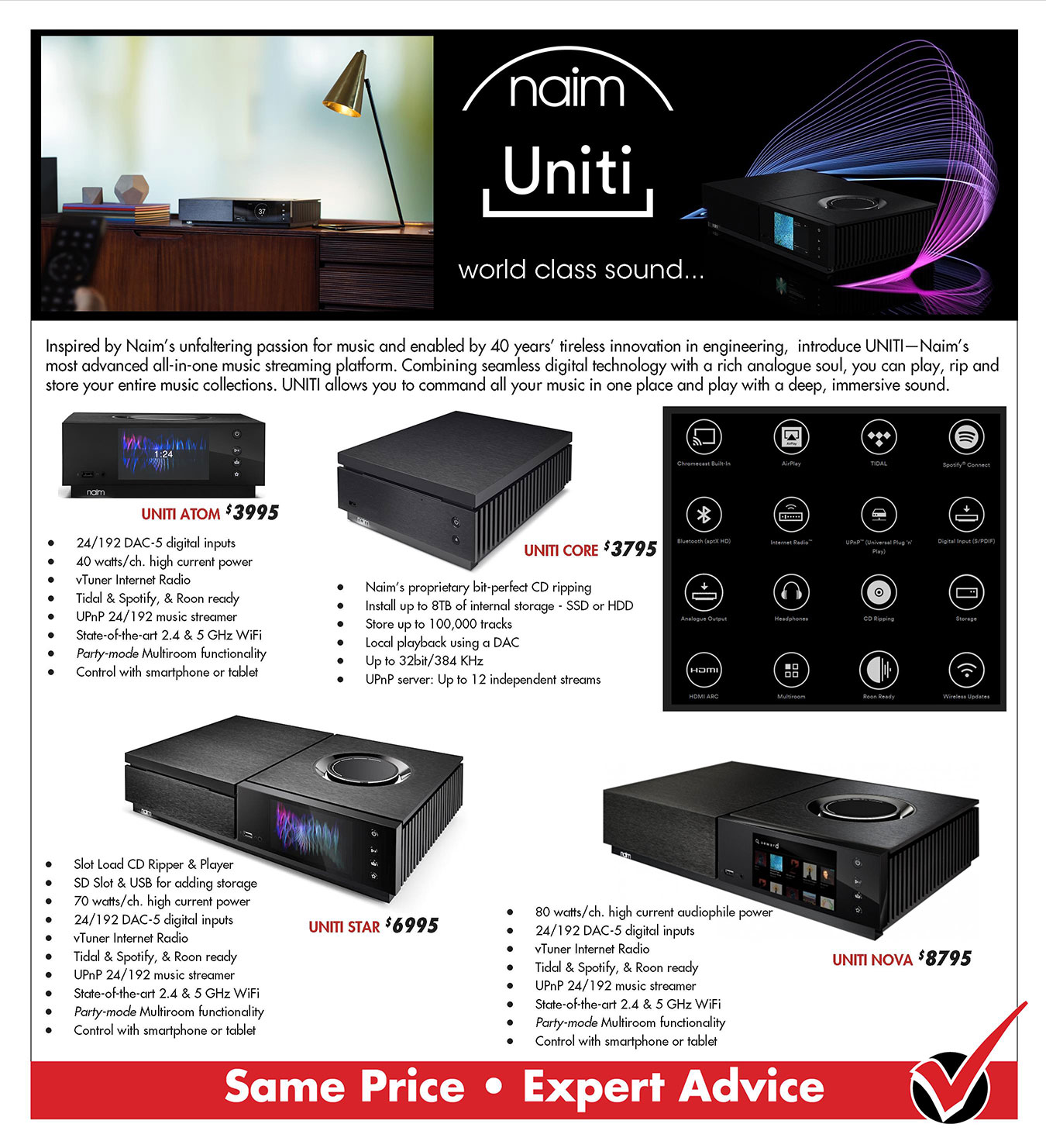 Product Catalog | Atlas Audio Video Unlimited