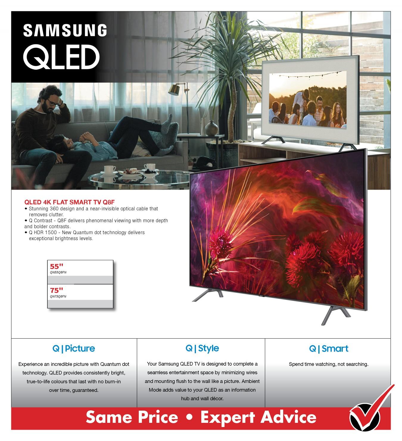 SAMSUNG Q8FN OLED TV