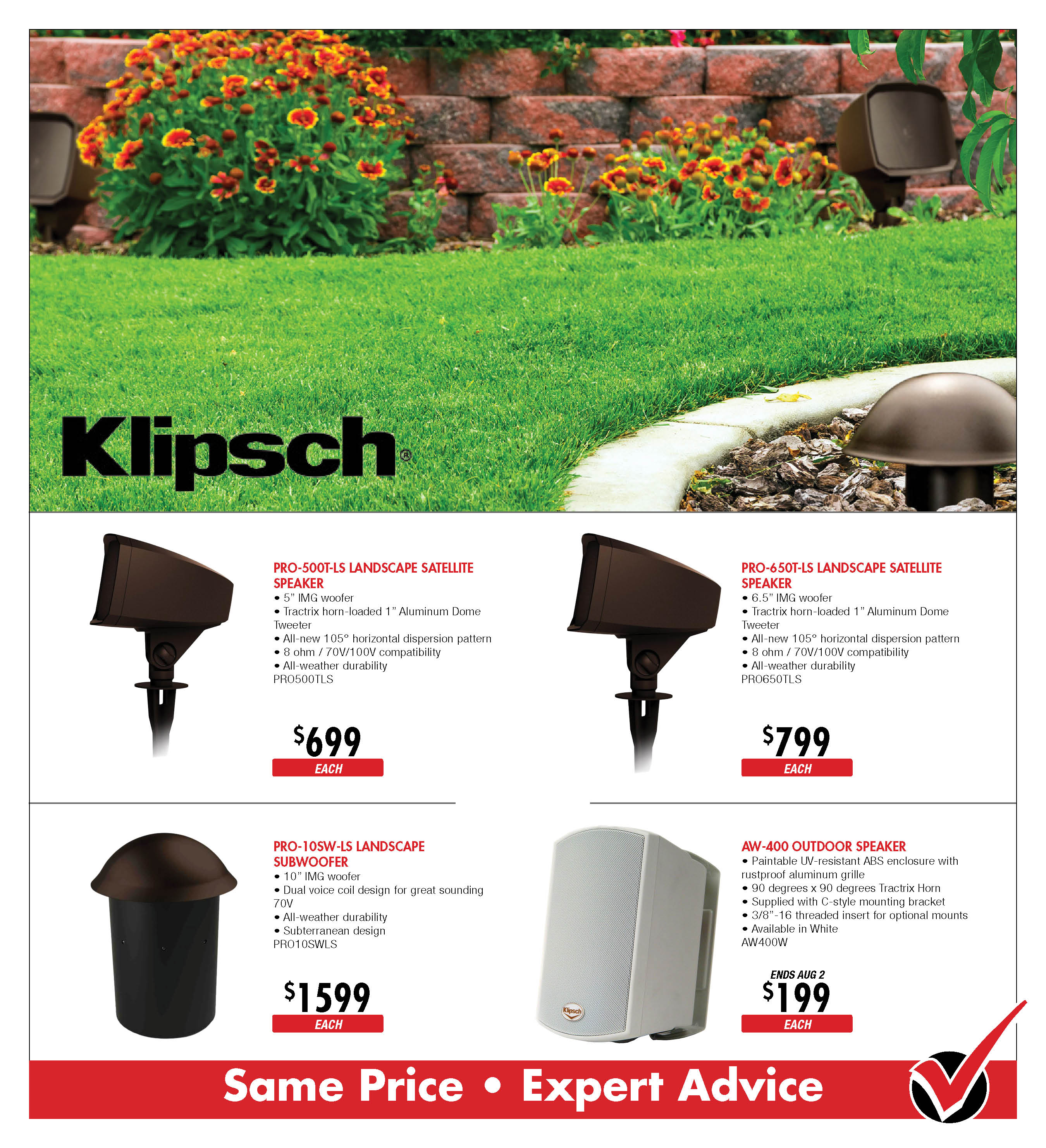 Klipsch Outdoor Speakers