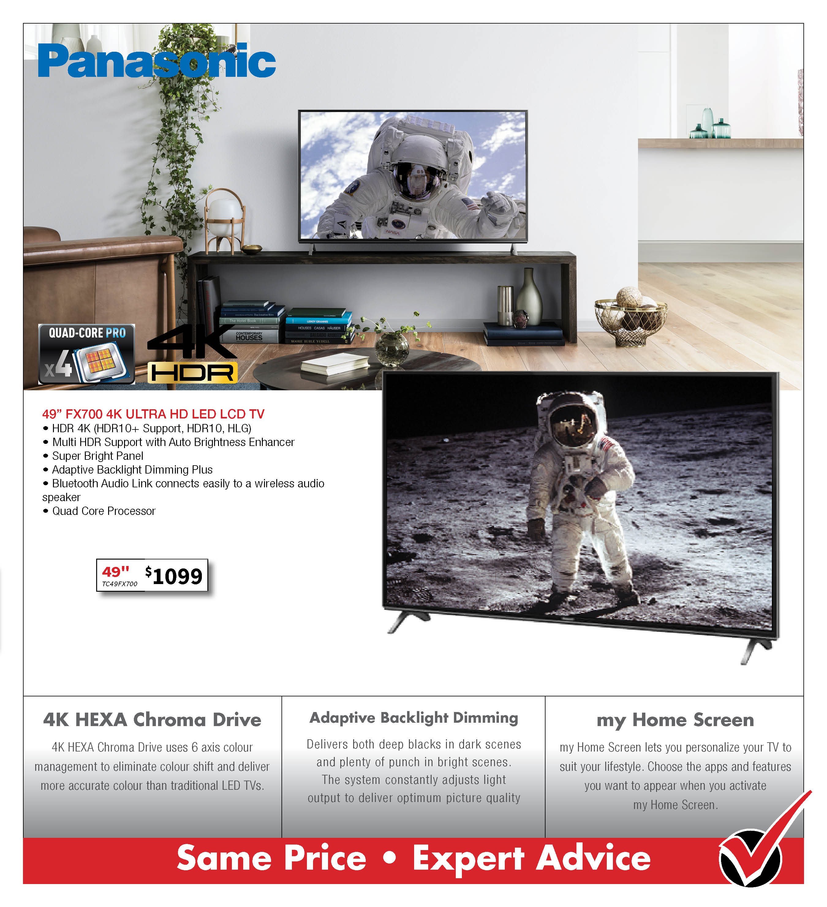 Panasonic FX700 UHD TV