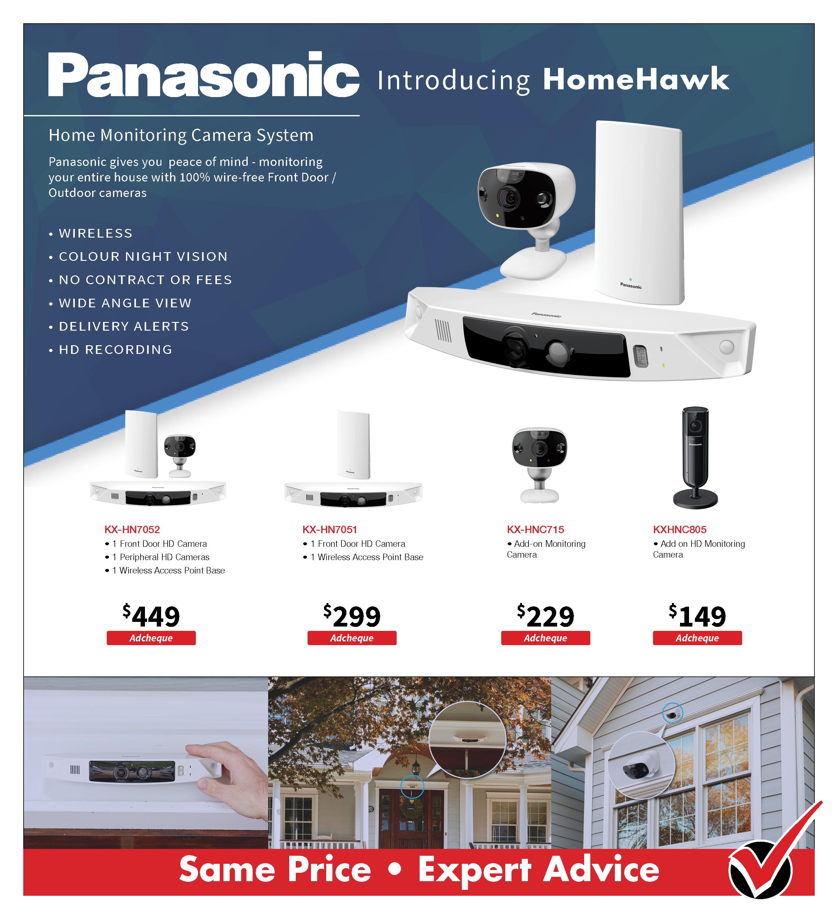 Panasonic Smart Home_HomeHawk