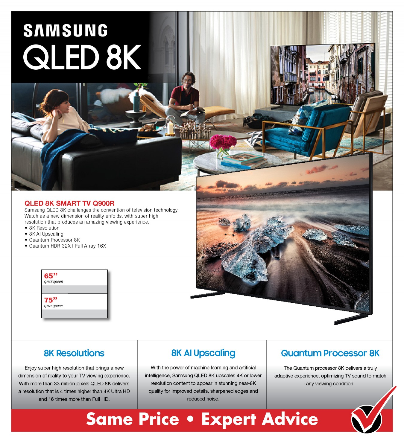 Samsung Q900R 8K TV