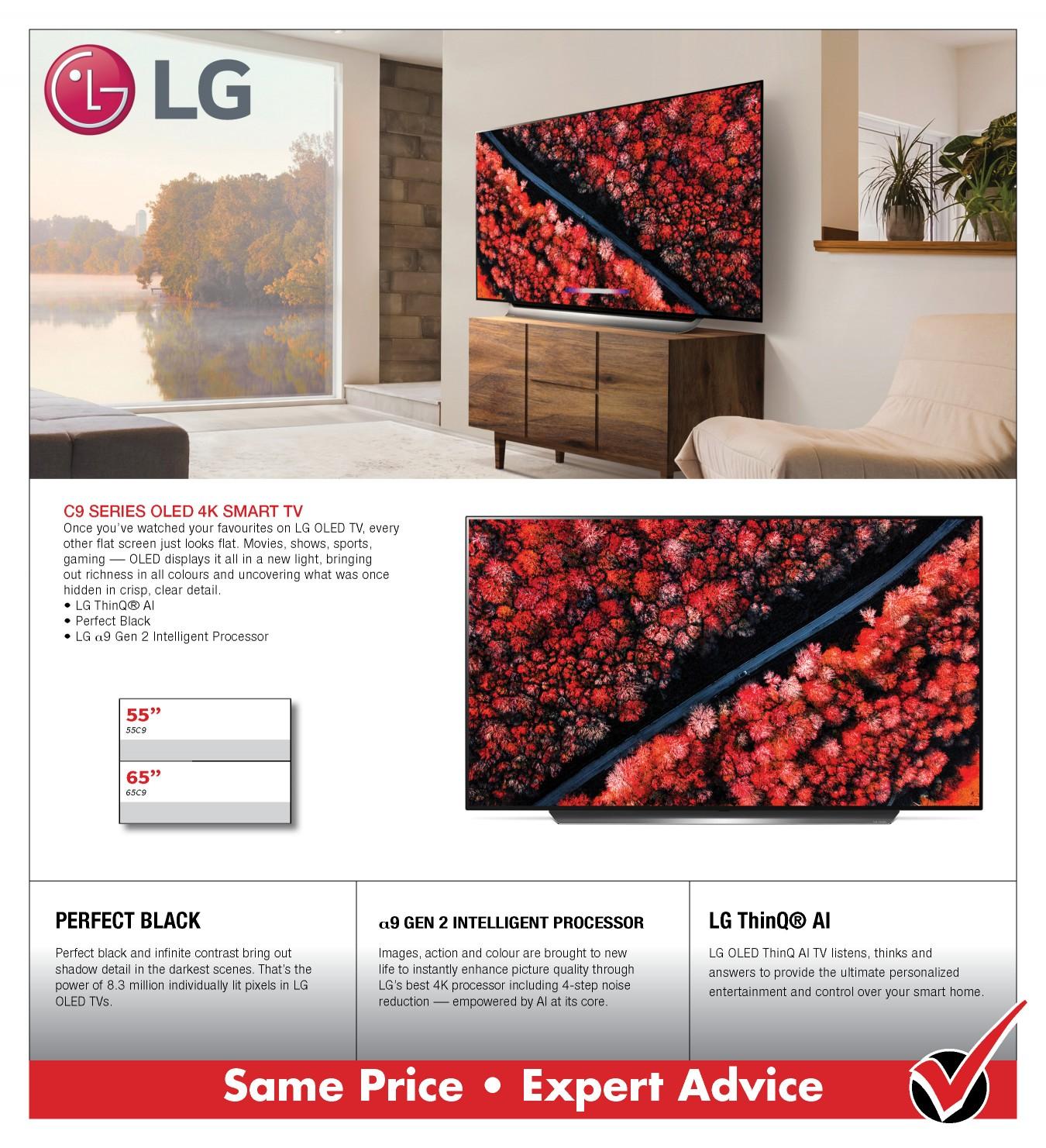 LG C9 OLED 4K SMART TV