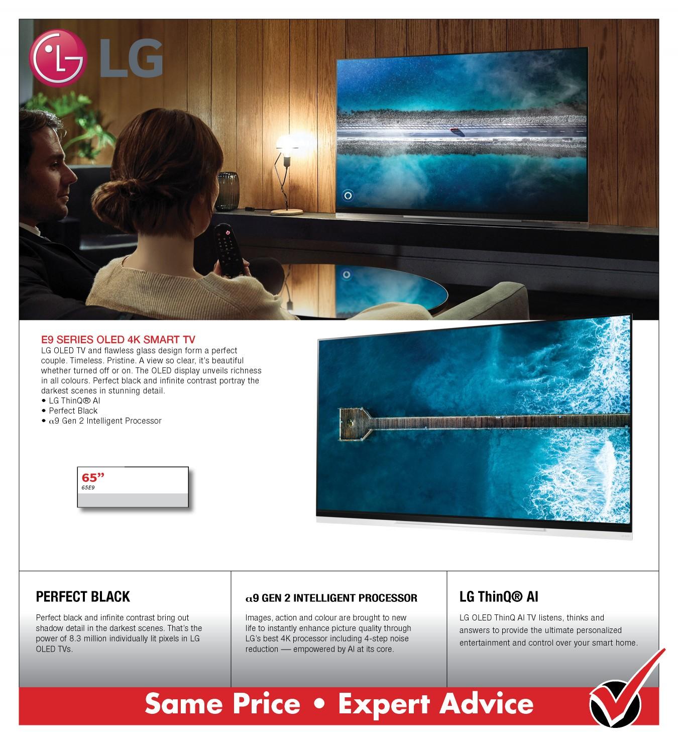 LG E9 OLED 4K SMART TV