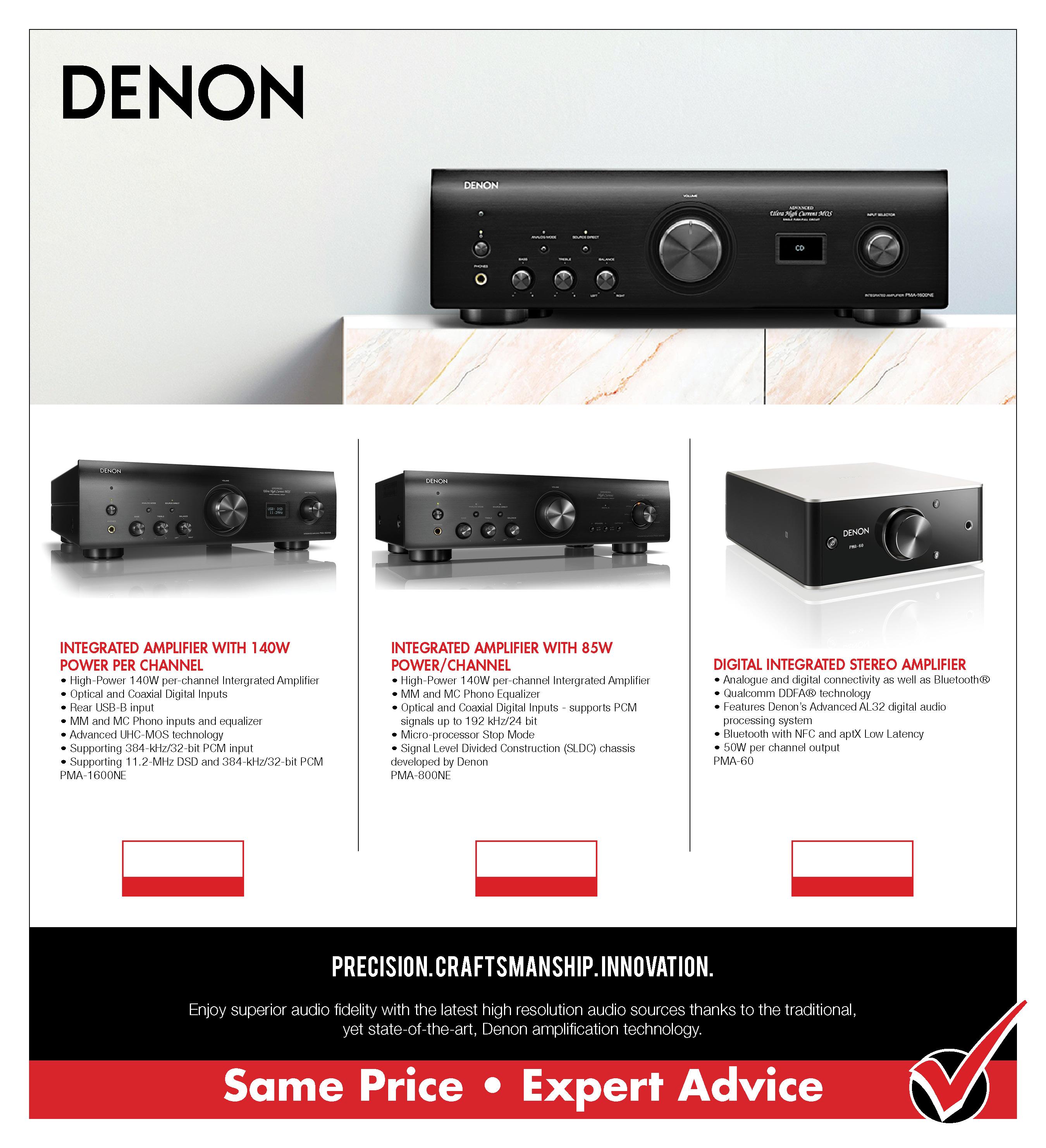 Denon Amps