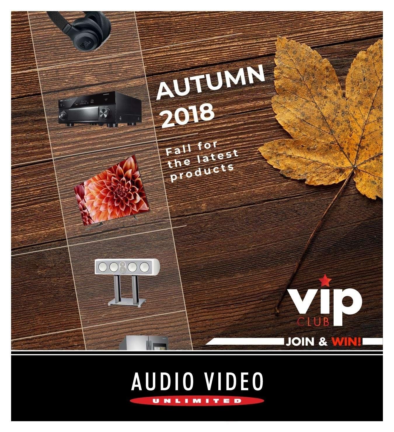 AVU Fall Catalogue 2018 Cover CE