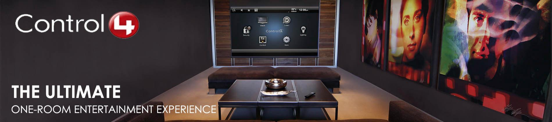 Control4,home theatre, Custom home,multi-room,music streaming,home control,automatic