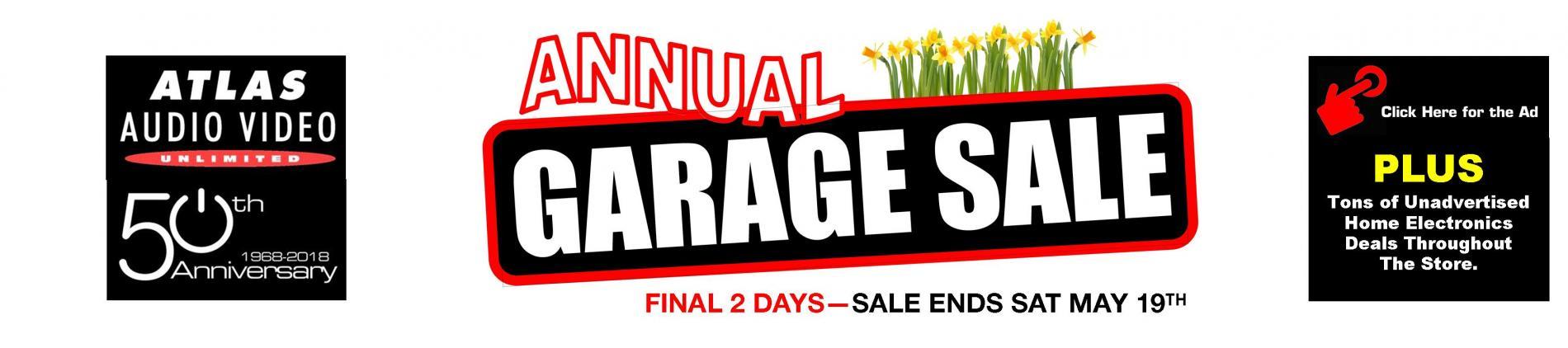 2018 Garage Sale Slider