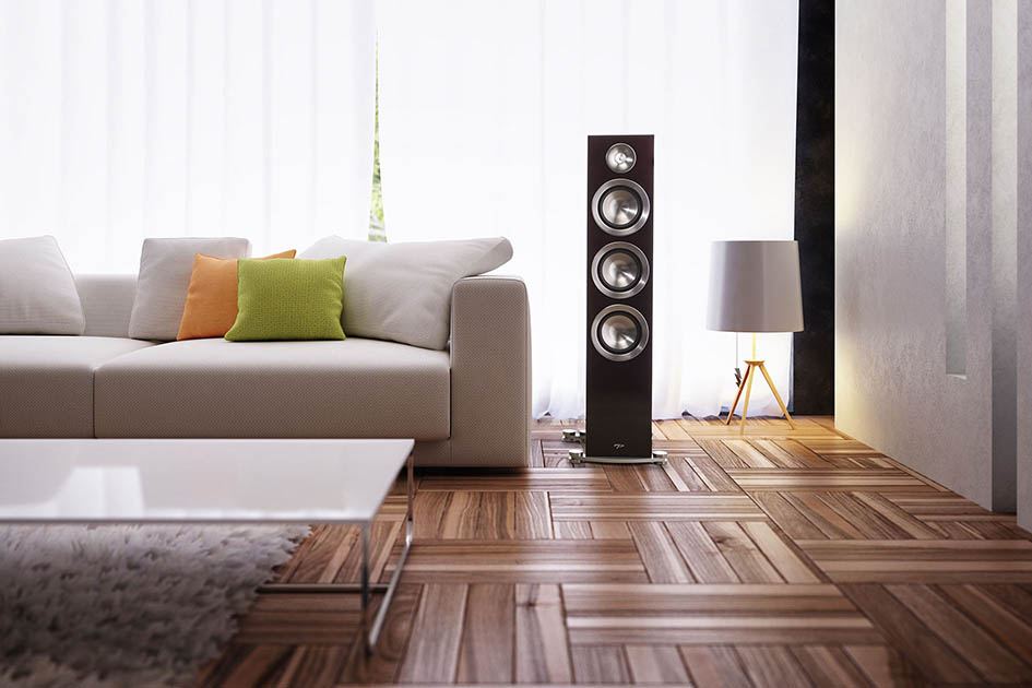home audio, tower speaker, hifi audio, paradigm, prestige