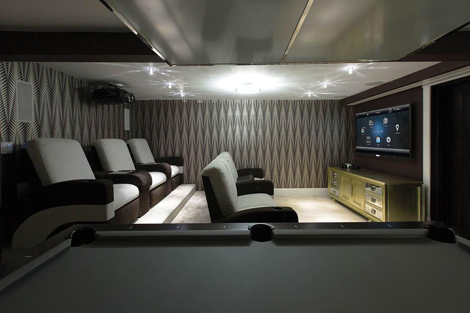 Control 4, home theatre, home cinema