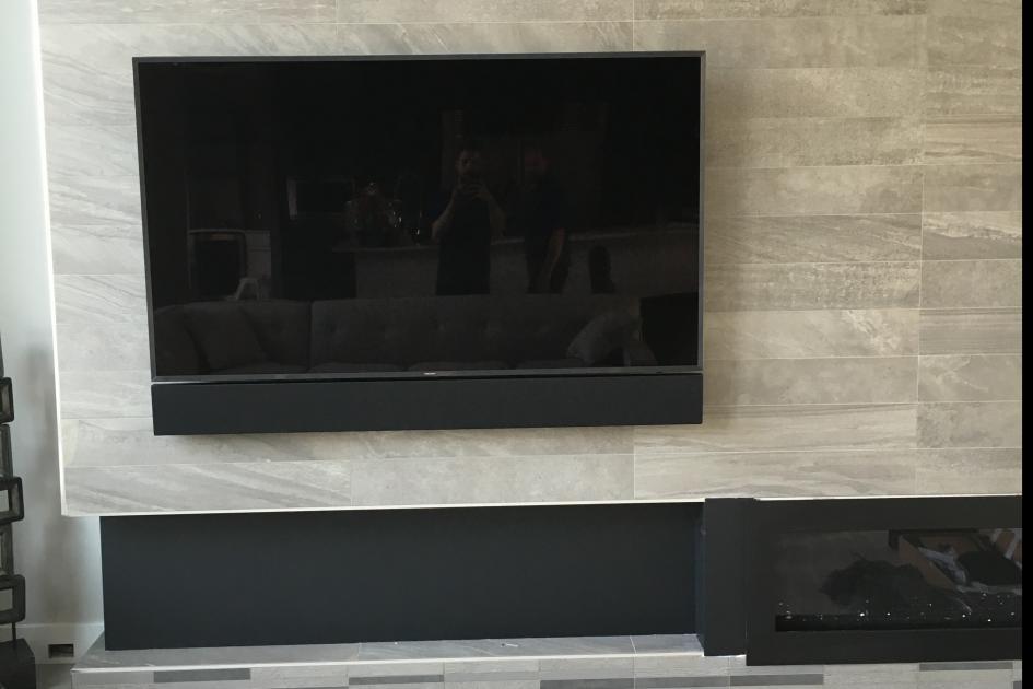 Custom TV Mount