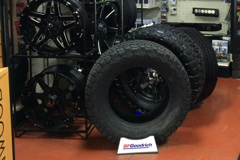 Wheels and Tires for cars & trucks