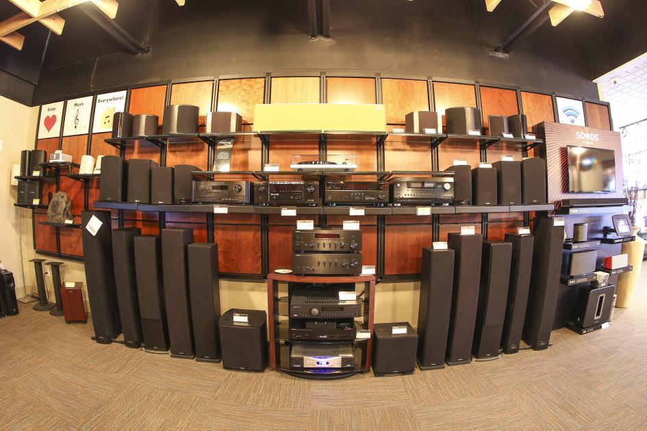 audio brand Anthem, Arcam, Denon, Monitor Audio, Paradigm, Sonos & Yamaha