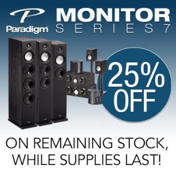 Paradigm speakers, tower speakers, Monitor Series. home speakers